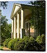 Davidson College Eumenean Hall Canvas Print