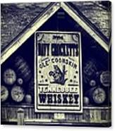 Davy Crocketts Tennessee Whiskey Canvas Print