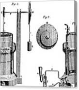 Davy: Gas Machine, 1800 Canvas Print