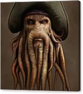 Davy Jones Canvas Print