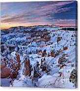 Dawn At Bryce Canvas Print