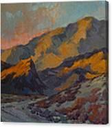 Dawn At La Quinta Cove Canvas Print