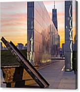 Dawn At The Empty Sky Memorial Canvas Print