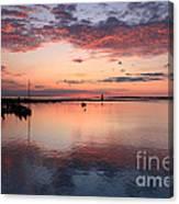 Dawn Edgartown Light Canvas Print