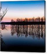 Dawn In The Flood Canvas Print
