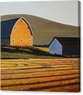 Dawn Near Lenville Canvas Print