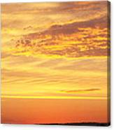 Dawn On Diamond Lake Canvas Print