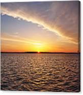 Dawn On The Chesapeak - St Michael's Maryland Canvas Print