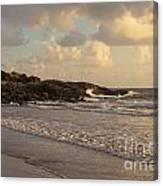 Dawn On The Coral Sea Canvas Print