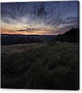 Dawn Over The Hills Canvas Print