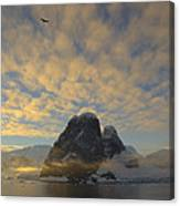Dawn Over The Lemaire Canvas Print