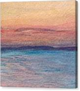 Dawn Over Troy Canvas Print