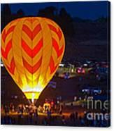 Dawn Patrol- Reno Balloon Race Canvas Print