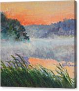 Dawn Reflection Study Canvas Print
