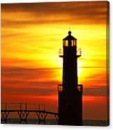 Dawn's Brighter Light Canvas Print