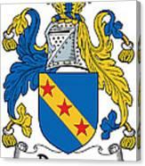 Dawson Coat Of Arms Londonderry Ireland Canvas Print