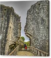 Day Among The Ruins Canvas Print