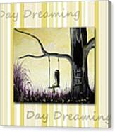 Day Dreaming In Yellow By Shawna Erback Canvas Print