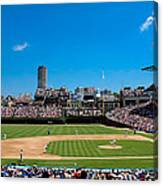 Day Game At Wrigley Field Canvas Print