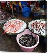 Day Market - Pak Chong Thailand - 011321 Canvas Print