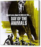 Day Of The Animals. Aka Something Out Canvas Print