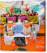 Day Of The Dead Altar, Mexico Canvas Print