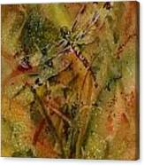Day Of The Dragonfly Canvas Print