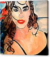 Day On The Beach Canvas Print