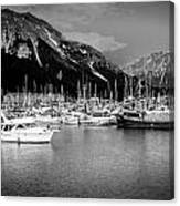 Day On The Water Canvas Print