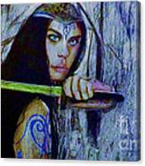 Dayanna To Battle Canvas Print