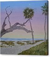 Daybreak At Edisto Canvas Print