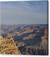 Daybreak At The Canyon Canvas Print