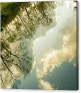 Daydreaming On The Canal Canvas Print
