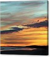 Days End At Kiawah Island Canvas Print