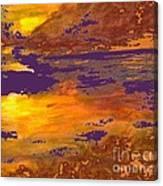 Days End Canvas Print
