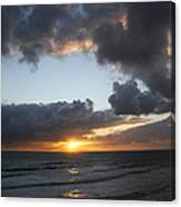 Day's End On Singer Island Canvas Print
