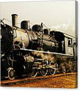 Days Of Steam And Steel Canvas Print
