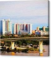 Daytona Bridge Canvas Print