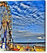 Daytona Ferris Wheel Canvas Print