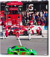 Daytona Speedway Race View Canvas Print