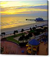 Daytona's Dawn Canvas Print