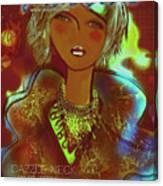 Dazzle Neck Collection Canvas Print