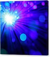 Dazzling Blue Canvas Print