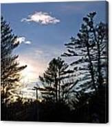 Dazzling Sunset Canvas Print