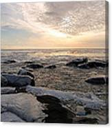 Dazzling Winter On Lake Superior Canvas Print
