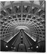 D.c. Subway Canvas Print