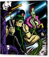 Dc Villains Canvas Print