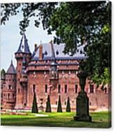 De Haar Castle 3. Utrecht. Netherlands Canvas Print