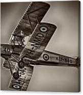 De Havilland Dh-82a Tiger Moth V5 Canvas Print