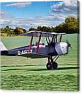 De Havilland Tiger Moth Canvas Print